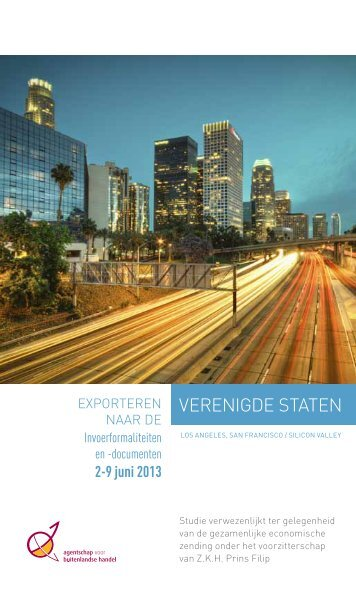 VERENIGDE STATEN - Belgian Economic Mission