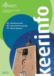Keerinfo 2013/1 (februari) - Gemeente Keerbergen