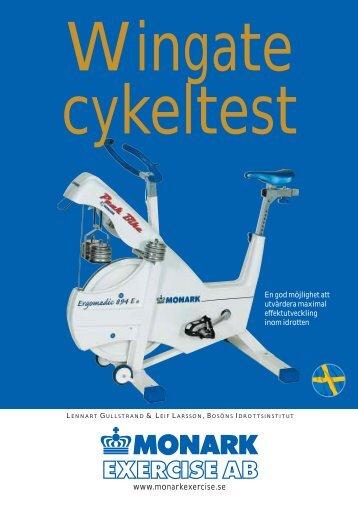 Wingate cykeltest Lennart Gullstrand & Leif Larsson