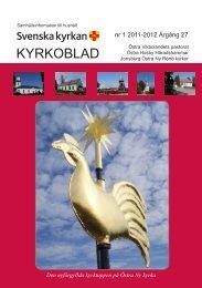 nr 1 2011-2012 Årgång 27 - Östra Vikbolandets kyrkliga samfällighet