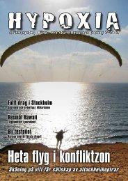 Fullt drag i Stockholm Resmål Hawaii Bli testpilot - Hypoxia