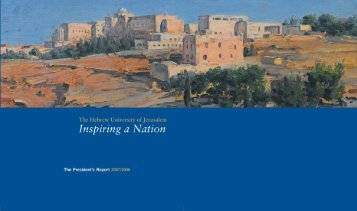 President's Report 2007/8 - Division for Development and Public ...