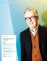 Lars Nittve chef för Moderna Museet i Stockholm ... - Chefstidningen