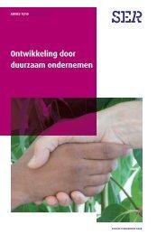Advies Ontwikkeling door duurzaam ondernemen (2011/10) - Ser