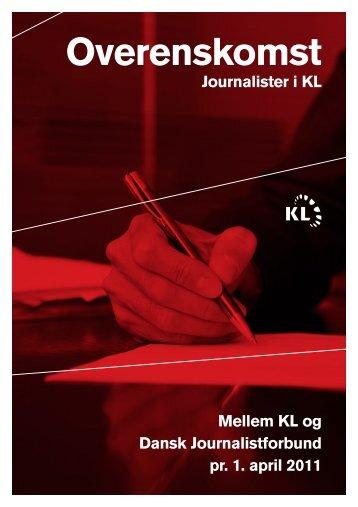 Tiltrædelsesoverenskomst for journalister 2011