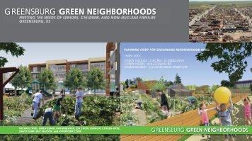 GREENSBURG GREEN NEIGHBORHOODS - db Atelier, LLC