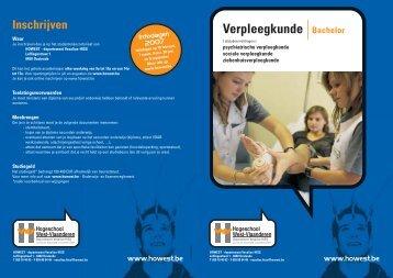 sociale verpleegkunde - Howest.be