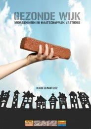 Reader: Gezonde wijk (voorzieningen en vastgoed) - Bouwstenen ...