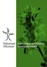 Cursusprogramma voorjaar 2009 Dekenaat Alkmaar - St. Fransiscus ...
