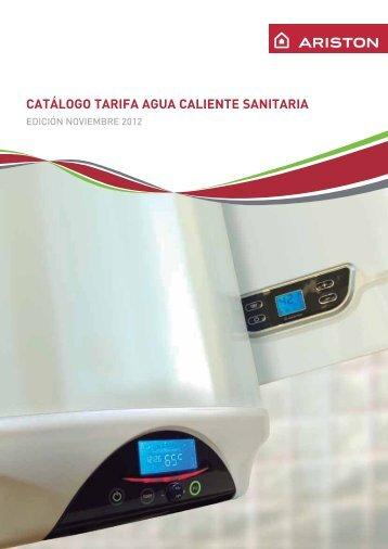 Catalogo Agua Caliente Sanitaria 2012 - Ariston