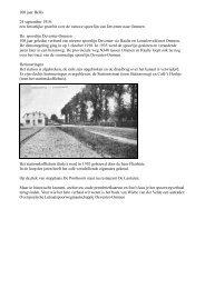 100 jaar Bello 24 september 1910 - Historische Kring Dalfsen