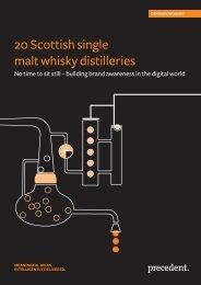 20 Scottish single malt whisky distilleries - Precedent