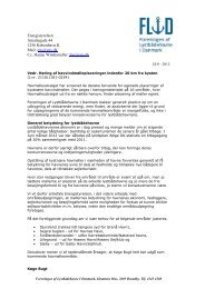 læs høringssvar - FLIDs