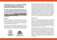 Viktig information om ramavtal eID2008 - E-legitimationsnämnden
