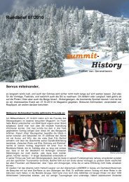 Rundbrief 07/2010 Servus miteinander - summit - History