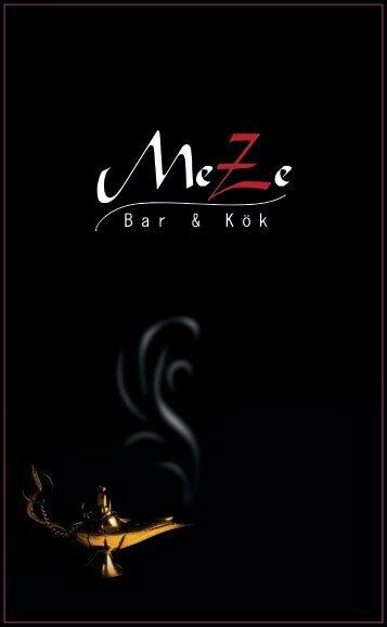 Klicka här för .PDF Format - Meze Bar & Kök