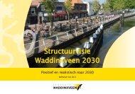 Structuurvisie Waddinxveen 2030 - Gemeente Waddinxveen