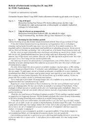 Referater af beboermøder afholdt i 2010 - Rødovre Boligselskab
