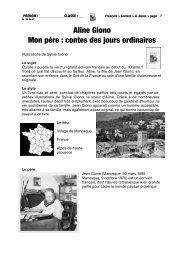 Aline Giono Mon père : contes des jours ordinaires - Julien ...