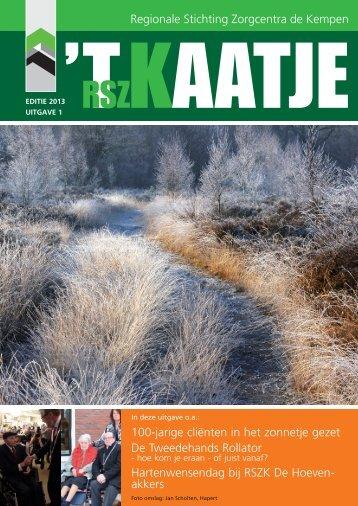 Editie 1, 2013 - Rszk