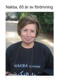 Nakba, 65 år av fördrivning