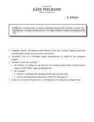 3. lektion (fareforvoldelse m.v.) - advokatfirmaet kåre pihlmann