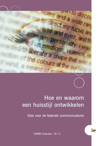 Hoe en waarom een huisstijl ontwikkelen - Fedweb - Belgium