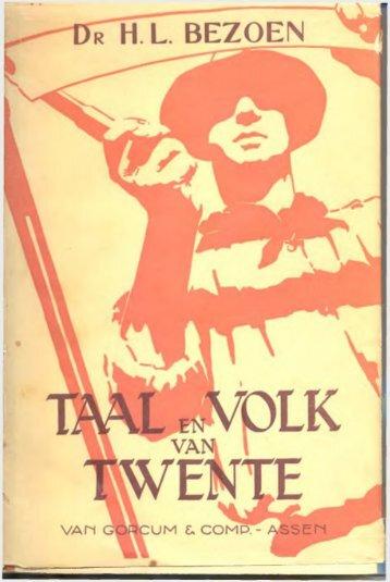 Taal en volk van Twente - De Taal van Overijssel