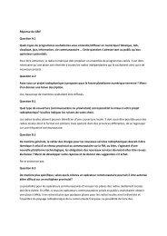 Réponse du GRIF Question A.1 Quels types de programmes ... - CSA