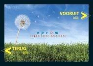 TERUG VOORUIT - Eprom