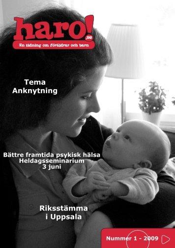 Tema Anknytning Riksstämma i Uppsala - Haro