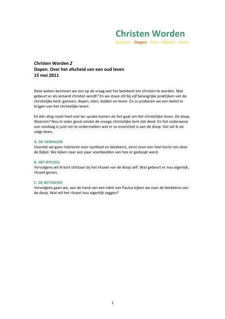 Christen Worden Martijn Horsman