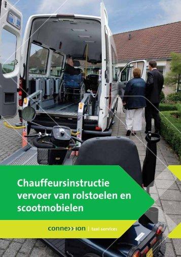 Chauffeursinstructie vervoer van rolstoelen en scootmobielen