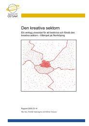 Rapport - Den kreativa... - Regionförbundet Östsam