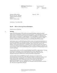 Betreft: Offerte Advisering Museaal Beleidsplan 1 Inleiding