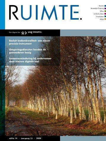 Besluit bodemkwaliteit: een nieuw precisie-instrument ... - USG Innotiv