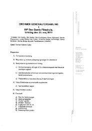 Generalforsamlingsreferat af 25.5.2011