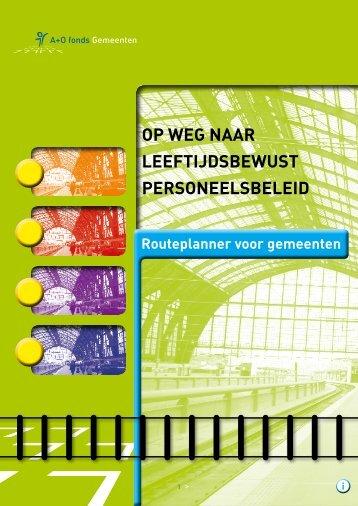 03 Gemeenten A+O Routeplanner