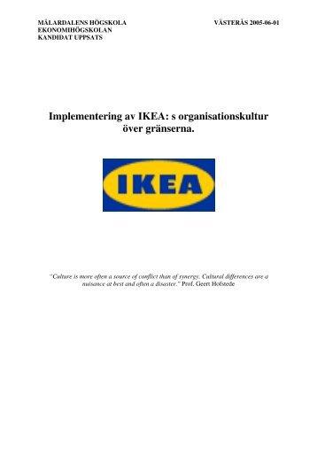 Ikea mobler till olagliga bosattare