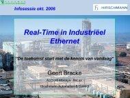 Real-Time in Industriëel Ethernet