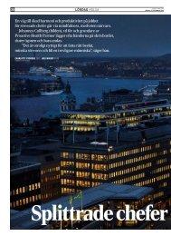 Splittrade chefer hittar inre frid, Dagens Industri, 17 ... - Naturakademin