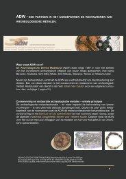 1 Waar staat ADW voor? De Archeologische Dienst Waasland (ADW ...