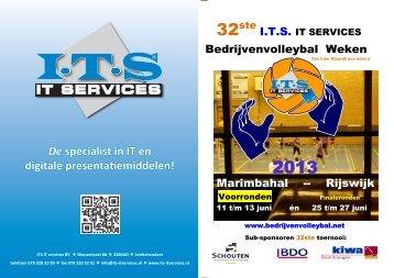 Boekje Voorronden - Rijswijkse Bedrijven Volleybal Weken