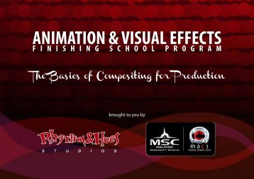 ANIMATION & VISUAL EFFECTS - Rhythm & Hues Studios
