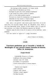 Canciones gamboinas por el incendio y batalla de Mondragón en ...