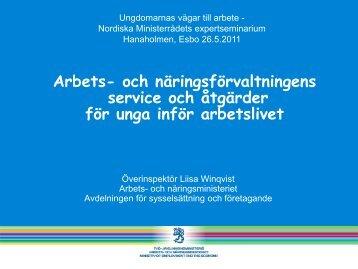 Winqvist - Hanaholmen