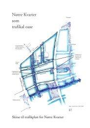 Trafikplan for Nørre Kvarter - Jens Hvass