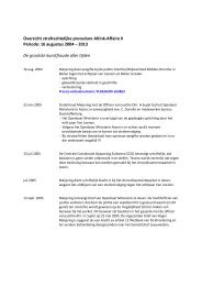 Overzicht strafrechtelijke procedure Altink-Affaire II ... - Johan Meijering
