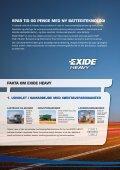 Download (PDF) - Exides batterier - Page 2