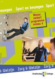 Download brochure - Graafschap College